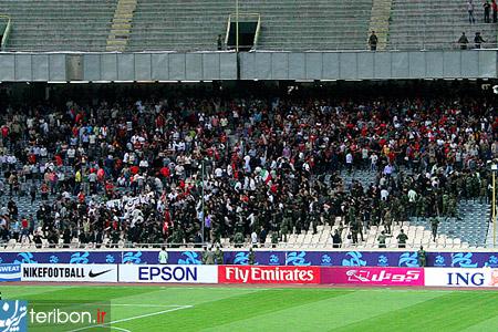 ورزشگاه آزادی-حمایت از بحرین